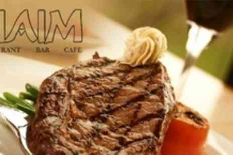 Siaim - Three Course Mediterranean Meal For Two With Olives - Save 54%
