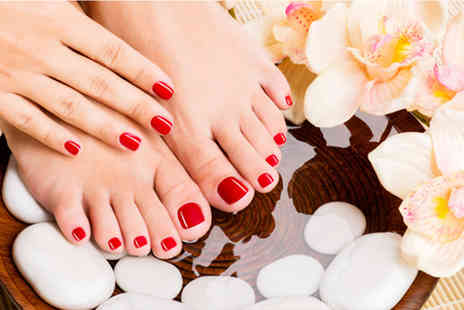 White Feathers Salon - Gel manicure & pedicure - Save 46%