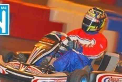 M4 Karting - Go Karting 30 Laps For One Person - Save 50%