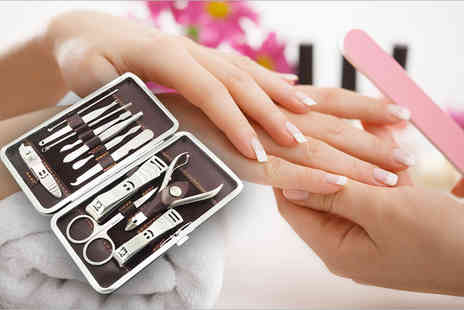 Jazooli - 12 piece LaRoc manicure set - Save 85%