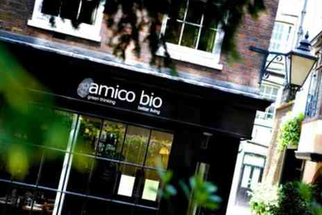Amico Bio - Sparkling Afternoon Tea for Two or Four - Save 40%