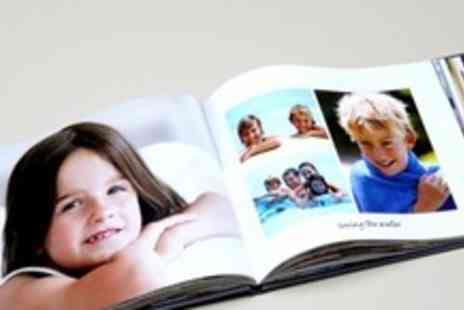 PhotoBox - 50 Pages Personalised Hardback A4 Photobook - Save 73%