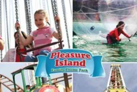 Pleasure Island -  Day Entry For Two People Pleasure Island Family Theme Park - Save 54%
