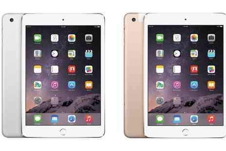 Goldboxdeals - Refurbished Apple iPad Mini 3 64GB or 128GB Wifi Plus Cellular 4G With Free Delivery - Save 0%