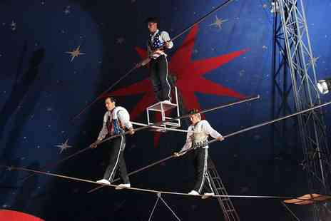 Santus Circus - One front tier ticket to Santus Circus on 28 September To 2 October - Save 50%