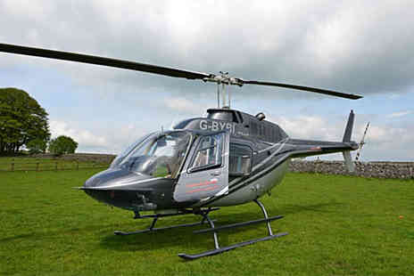 Buyagift - Jet powered helicopter tour of one of nine - Save 0%