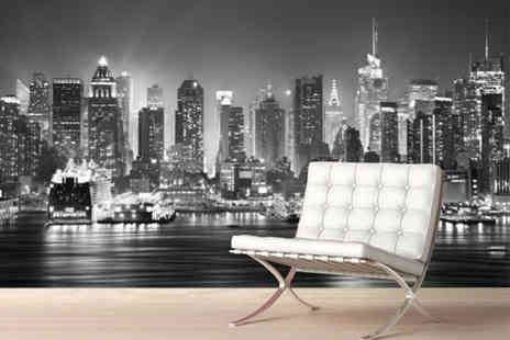 Fab Deco Ltd - Large city wall mural choose from 22 different designs - Save 86%