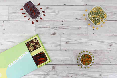 Eat Different - One EarlyBird snack box - Save 80%