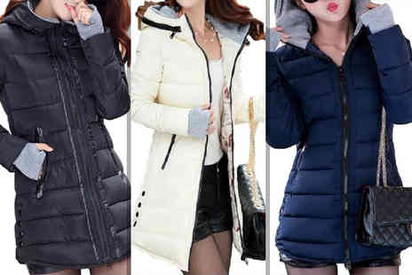 Bluebell Retail - Womens puffer jacket choose from seven colours - Save 50%