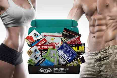 Muscle Crate - One month subscription of muscle crate Plus delivery included - Save 47%