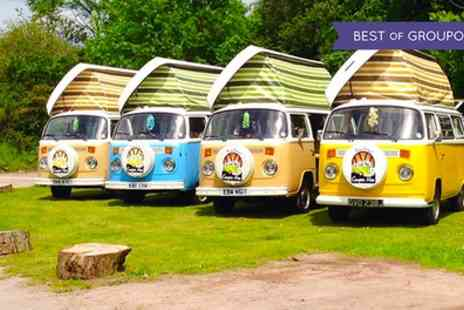 New Forest VW Camper Hire - Three Night VW Camper Hire for up to Four People - Save 55%