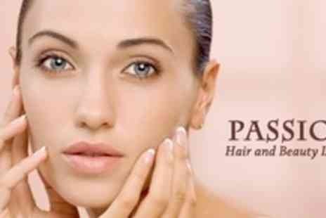 Passion Hair and Beauty - 60 Minute Facial Plus Hand Massage, and Eyebrow Shape - Save 69%