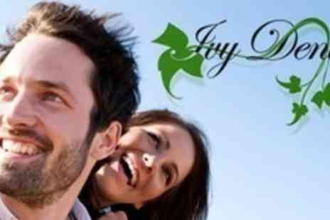 Ivy Dental Practice - Two Dental Implants With Ceramic Crowns and Abutments - Save 62%