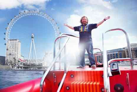 London RIB Voyages - Thames Rocket Speed Boat Voyage for Two - Save 0%