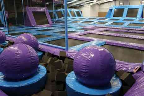 Jump Nation - Two Hour Trampolining Experience for Two - Save 0%