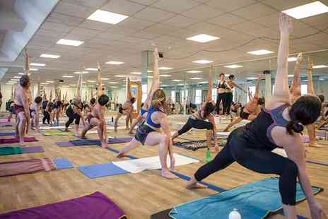 Yoga in the Lanes - Ten Hot Yoga Classes - Save 77%