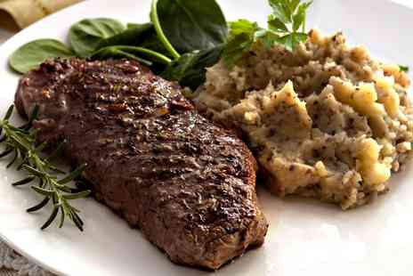 Salvatores Ristorante - Steak Meal for Two or Four - Save 53%