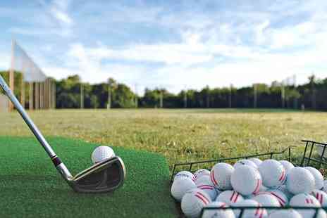 Manston Golf Centre - 250, 450 or 1000 Ball Range Card - Save 47%