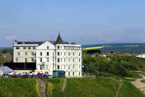 Britannia Hotels - One or Two Night Scarborough stay for two with full English breakfast, buffet dinner, a bottle of wine and late checkout - Save 0%