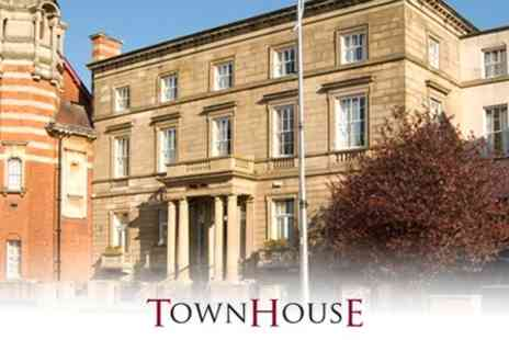 The Townhouse - One Night Getaway For Two with Afternoon Tea and Breakfast for £43 - Save 59%