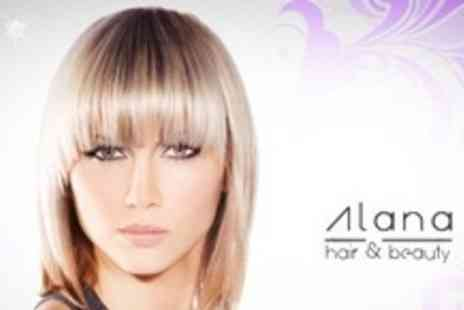 Alana Hair and Beauty -  Full Head of Highlights Plus Cut, Condition, and Blow Dry - Save 66%