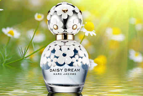 Wowcher Direct - 50ml or 100ml bottle of Marc Jacobs Daisy Dream EDT - Save 41%