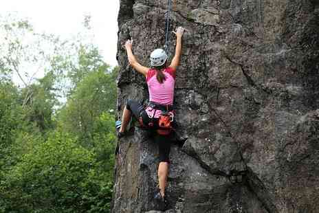 Weardale Activity Centre - Four hour outdoor rock climbing experience - Save 52%
