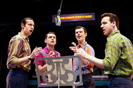 Jersey Boys - Afternoon Tea and Jersey Boys Theatre Tickets for Two - Save 15%