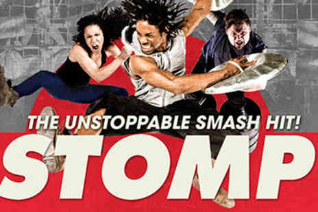 Stomp - Afternoon Tea and Stomp Theatre Tickets for Two - Save 15%