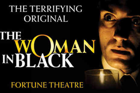 Woman in Black - Afternoon Tea and Woman in Black Theatre Tickets for Two - Save 15%