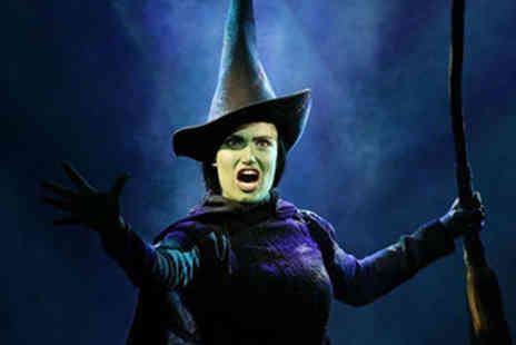 Wicked - Afternoon Tea and Wicked Theatre Tickets for Two - Save 15%