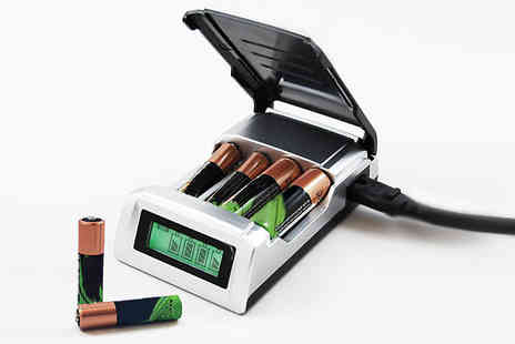 EasyLife Group - Alkaline Battery Charger for AA or AAA Rechargeable Batteries - Save 0%