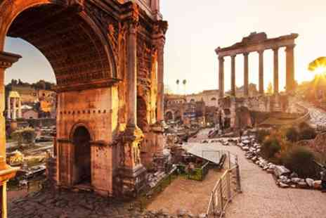 Citrus Holidays - Deluxe Rome City Break with Flights & Breakfast - Save 0%