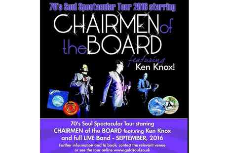 Gold Soul - Chairmen of the Board on 25 September at 8 p.m - Save 50%