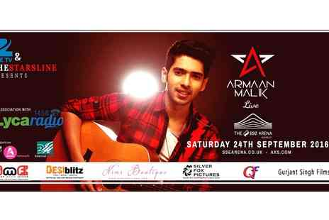 Armaan Malik -  Armaan Malik Live On 24 September - Save 36%
