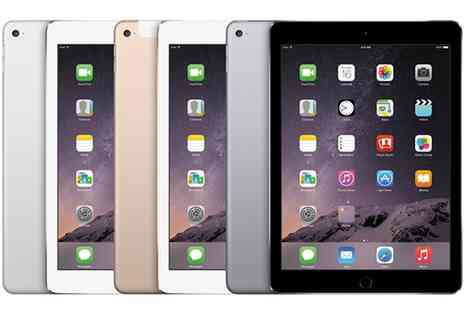 Goldboxdeals - Refurbished Apple iPad Air 2 64GB Wi-Fi Plus 4G or 128GB Wi-Fi Plus 4G  With Free Delivery - Save 0%