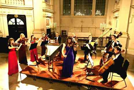 Candlelight Concerts - Ticket to see Vivaldi Four Seasons by Candlelight including a programme and CD single - Save 51%