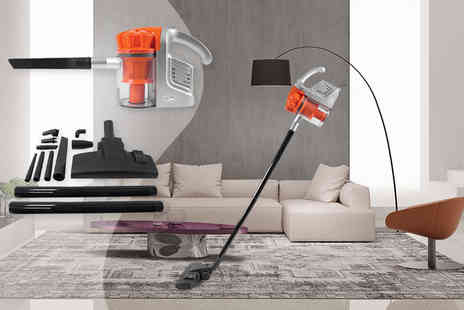 Fusion Homeware - 600W dual cyclone vacuum cleaner with attachments - Save 80%