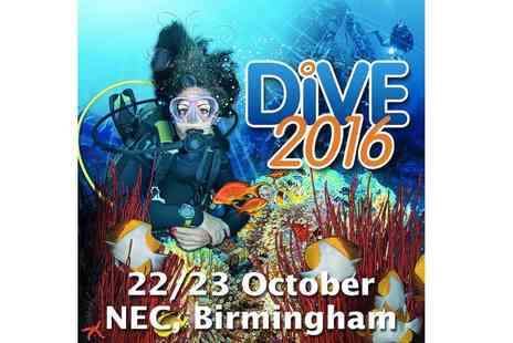 The Dive Show - One or two ticket to The Dive Show on the 22nd or 23rd of October - Save 38%