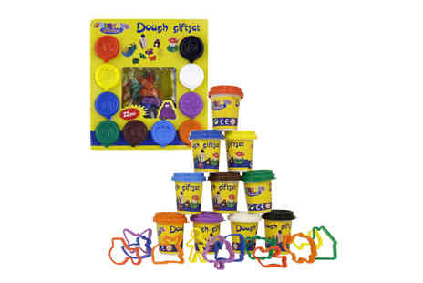Deal Champion - 22 Piece Play Dough Craft Gift Set Tubs & Shapes - Save 45%