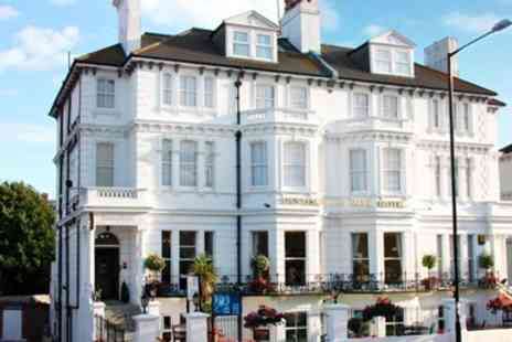 The Devonshire Park Hotel - Eastbourne Victorian Hotel Stay including Dinner - Save 64%