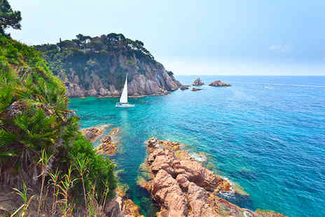 Crystal Travel - Four or Six night 4 Star break in Barcelona and the Costa Brava including flights - Save 42%