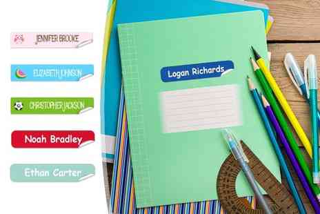 Eastmon Online - 76 personalised mini name labels for 152 labels - Save 65%