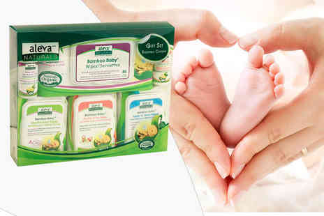 Precious Little One - Pack of Aleva Naturals bamboo baby wipes - Save 33%