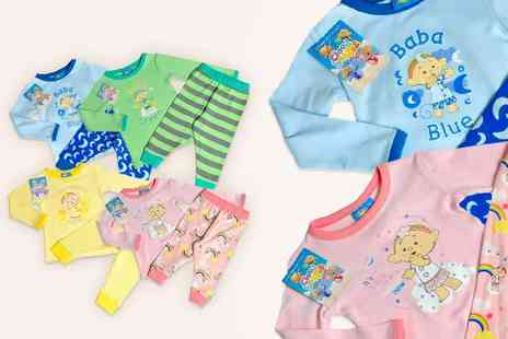 Zippy Baby - Set of Cloudbabies pyjamas choose from four colours - Save 59%
