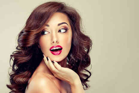 Te Amo Hair & Beauty Salon - Cut and blow dry or cut with a half head of highlights or full head of colour and conditioning treatment - Save 50%