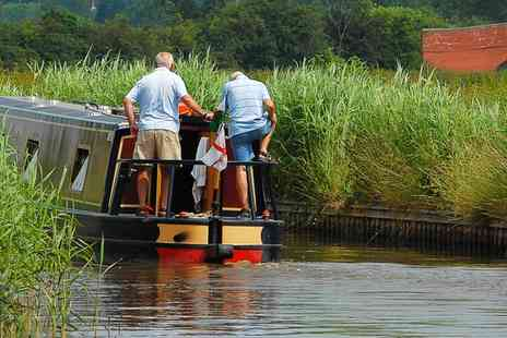 Norbury Wharf - Full Day Narrowboat Hire For Up to Ten People - Save 38%