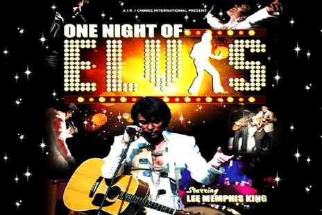 ATG Tickets - Tickets to One Night of Elvis Lee Memphis King Overview - Save 46%