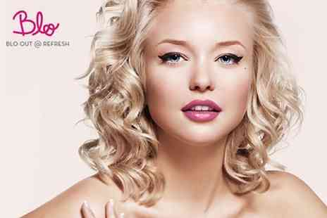 Blo Out and Refresh - Cut, Blow Dry and LAnza Conditioning Treatment with Beverages and sweet treats - Save 51%