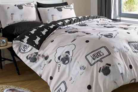 Groupon Goods Global GmbH - Reversible Cats and Dogs Duvet Sets - Save 0%